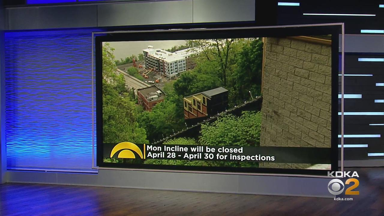 Mon Incline To Close For Inspections