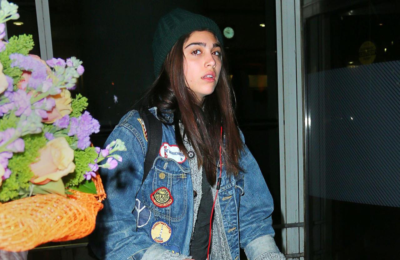 Lourdes Leon confirms Timothee Chalamet was her 'first boyfriend'