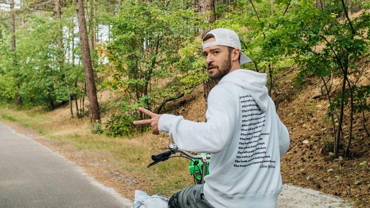 Justin Timberlake launches pipeline challenge on Earth Day