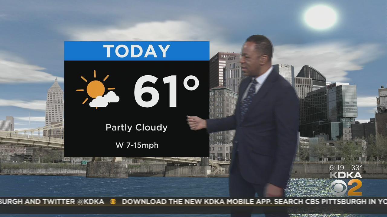 KDKA-TV Morning Forecast (4/23)