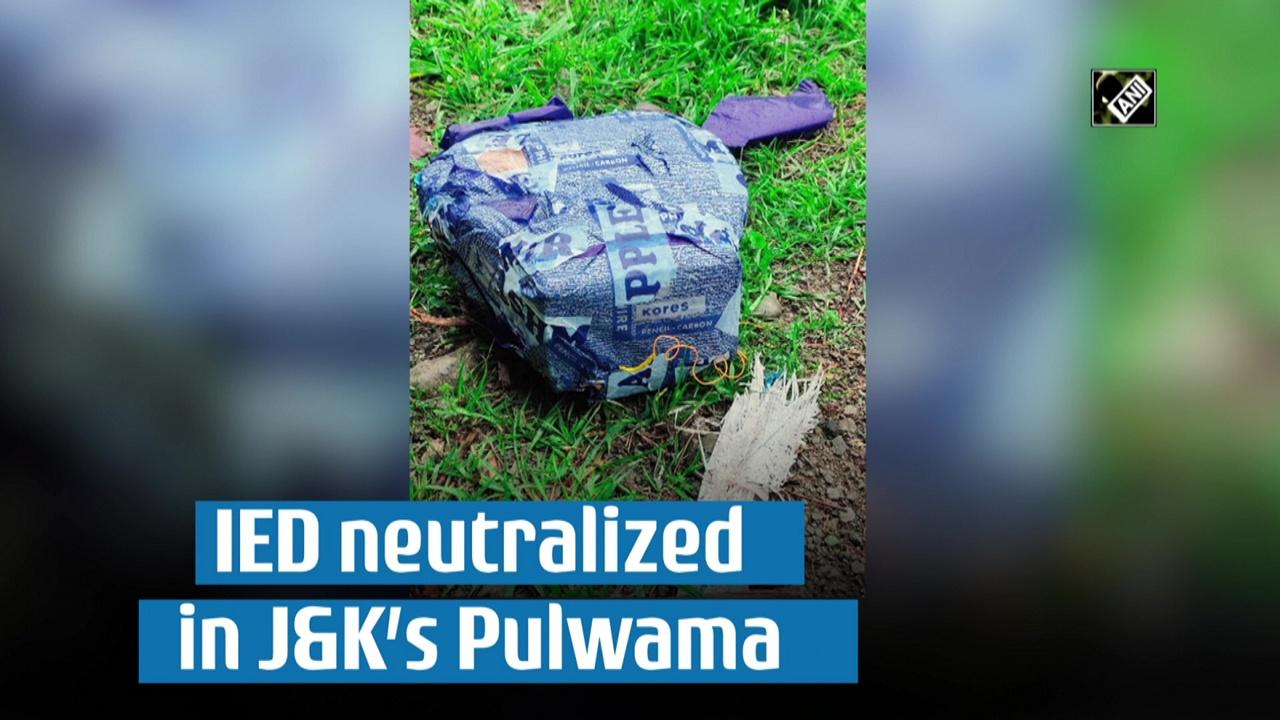 IED neutralized in J and K's Pulwama