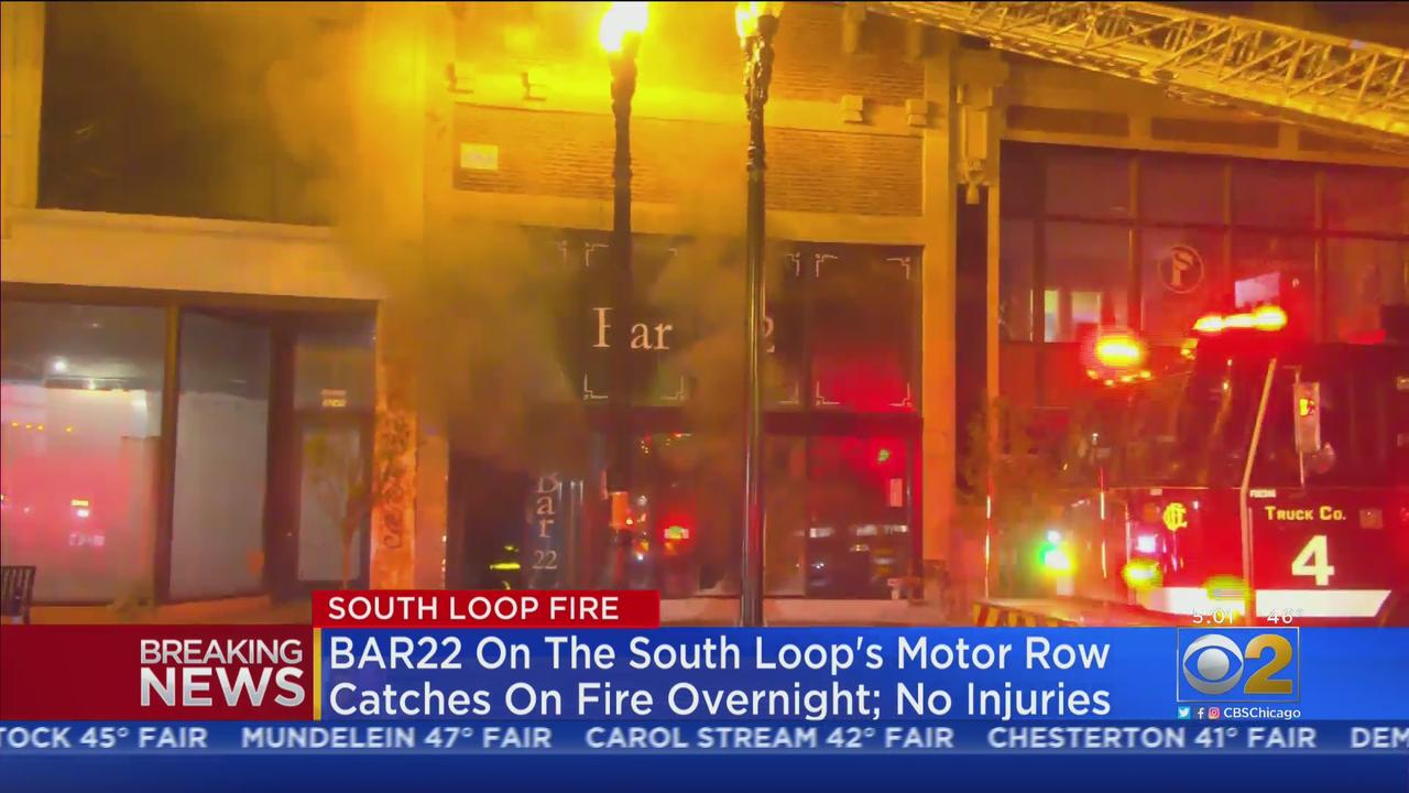 Bar 22 In South Loop Catches Fire Overnight