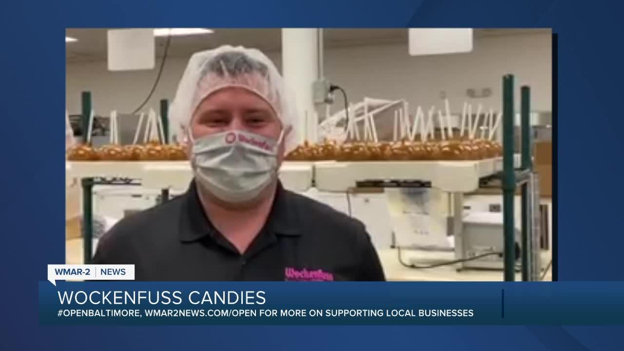 Wockenfuss Candies says 'We're Open Baltimore!'