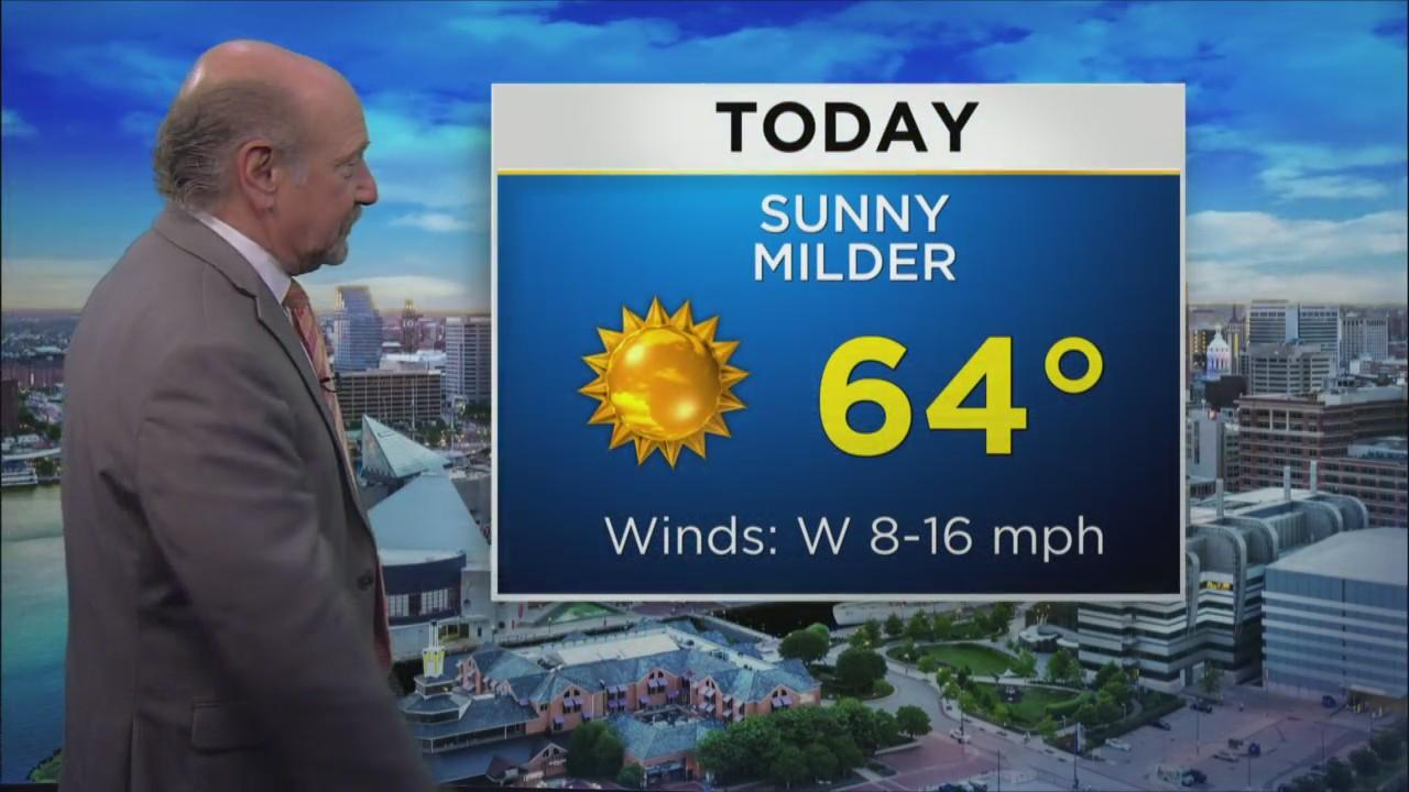 Friday Morning Weather With Marty Bass