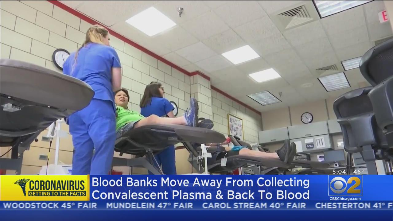 Blood Banks In Need Of Blood Donors Amid Pandemic; No Longer In Need Of Plasma From COVID Survivors