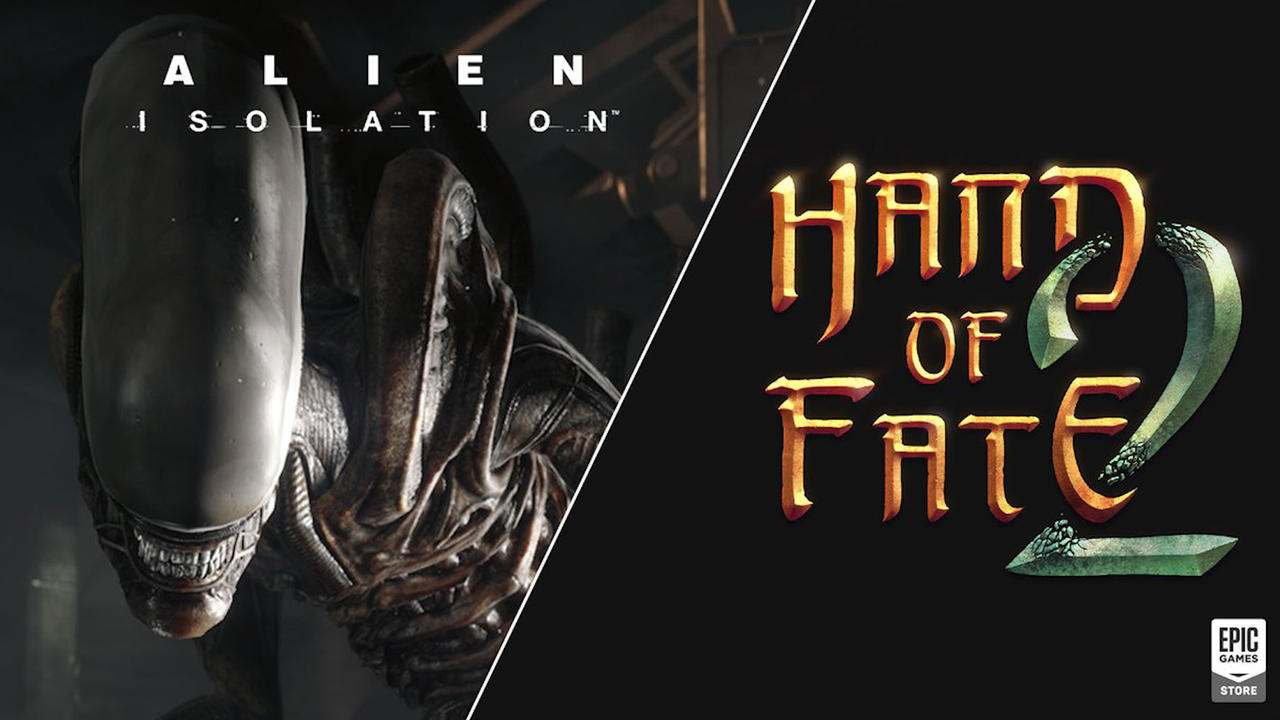 Epic Games Store Release Alien: Isolation And Hand of Fate 2 For Free