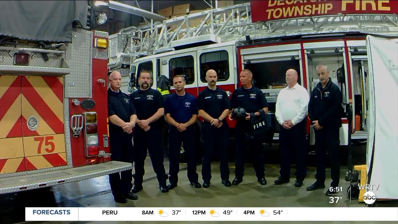 Decatur Township Fire Department responds to mass shooting