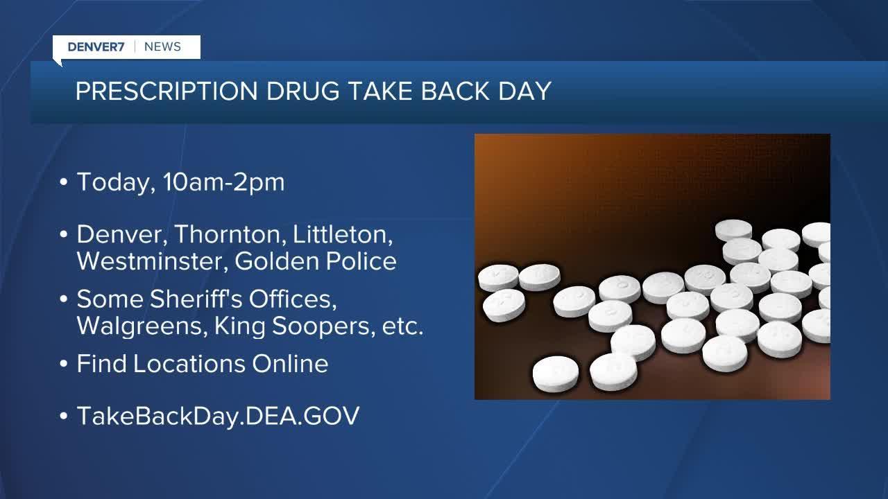 Got old meds? Prescription take back day is Saturday