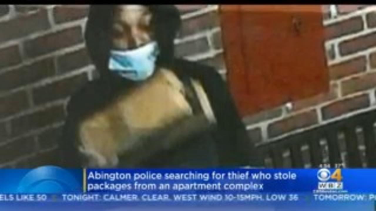 Abington Police Ask Public To Help Identify Package Thief