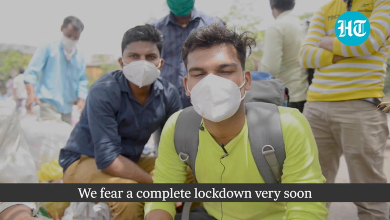 'Will Not Return': Why migrants are leaving Mumbai again, this time in packed trains