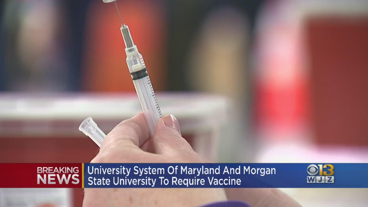 University System Of Maryland, Morgan State Requiring COVID Vaccinations Ahead Of Fall Return