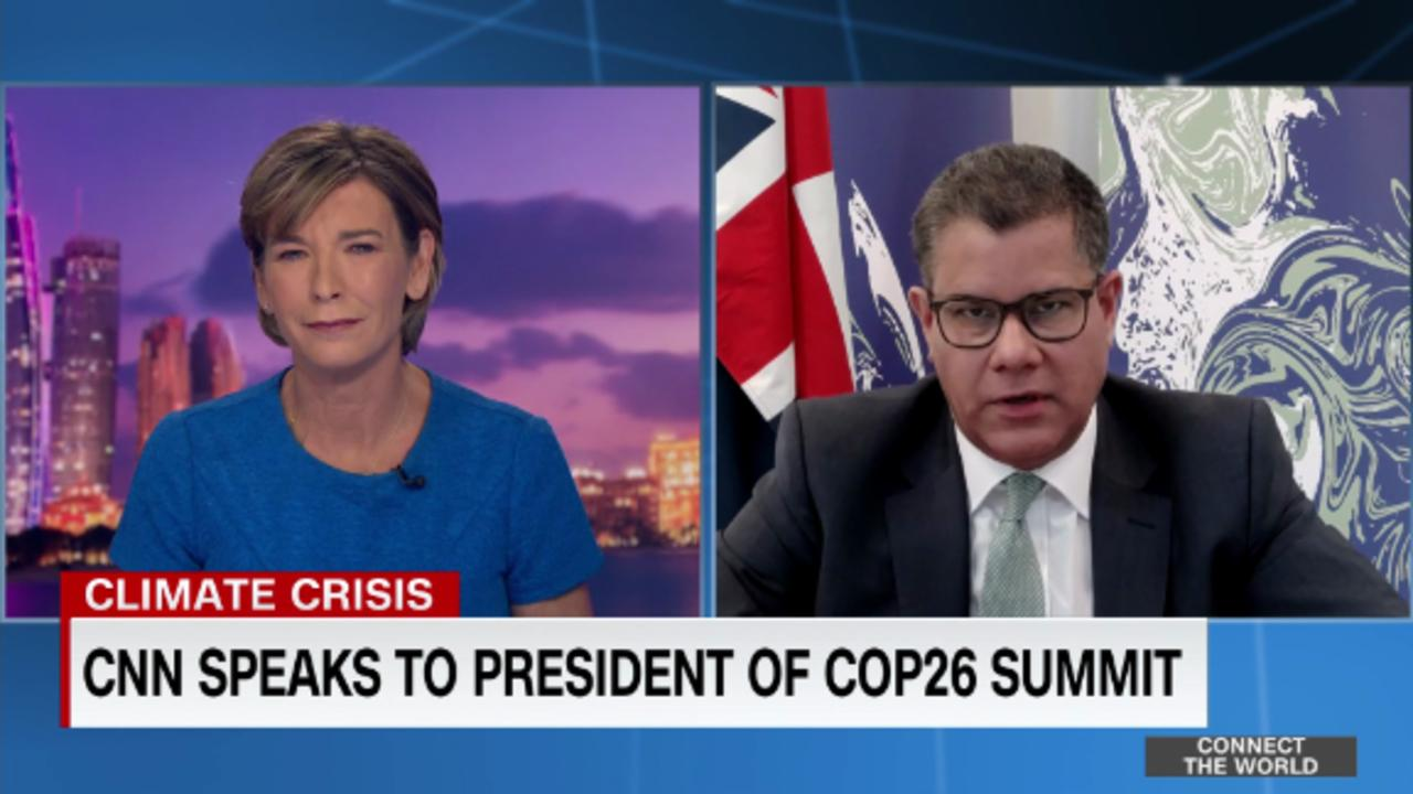 President of COP26: UK has set example on 'green growth'
