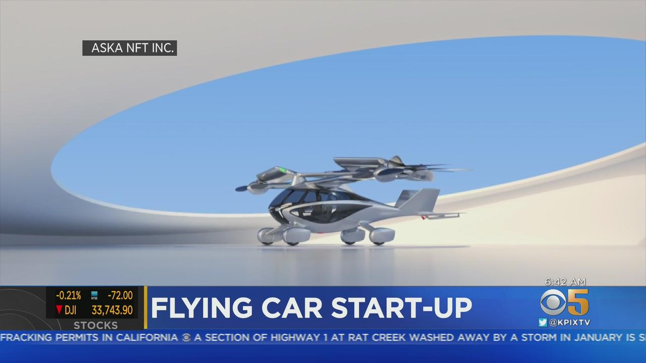 FLYING COMMUTE:  Los Altos startup developing a flying SUV-size  vehicle for future Bay Area commutes