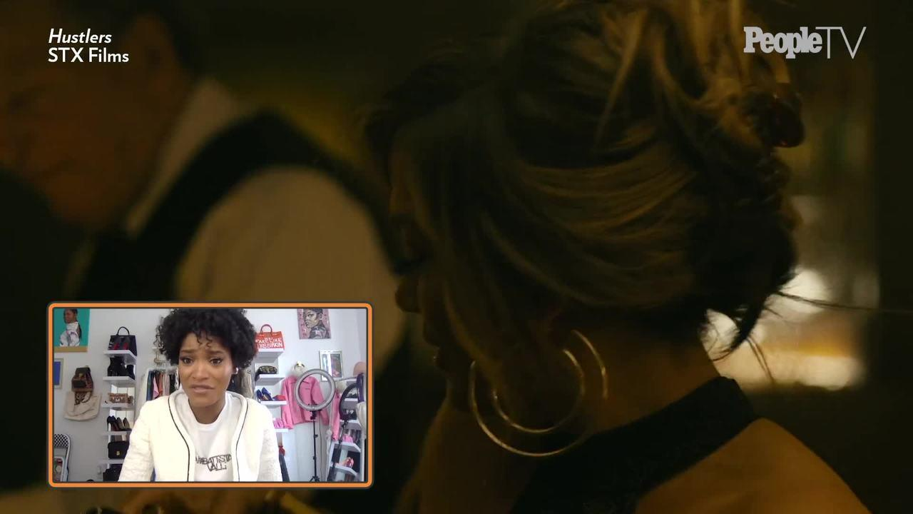 Keke Palmer Talks Getting to Work with Some Amazing Women in 'Hustlers'