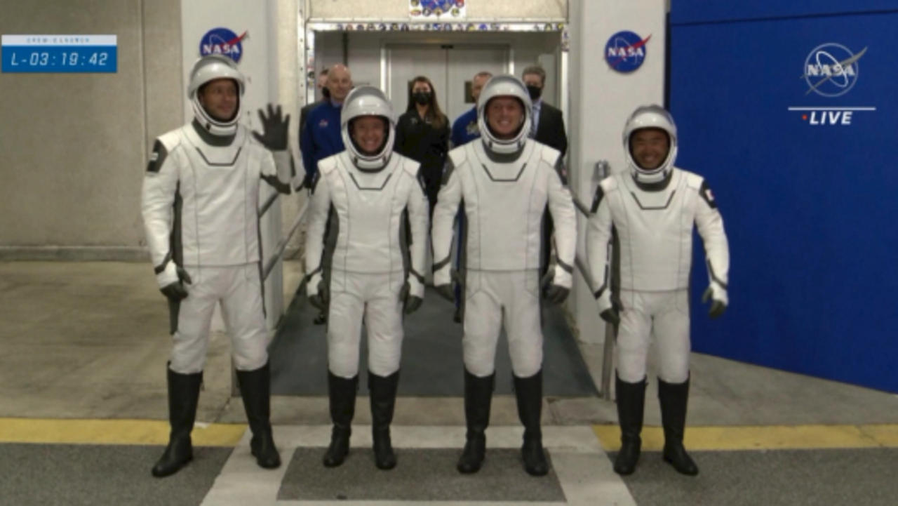 NASA/SpaceX Partnership Launches Astronauts From Three Different Countries to Space Station