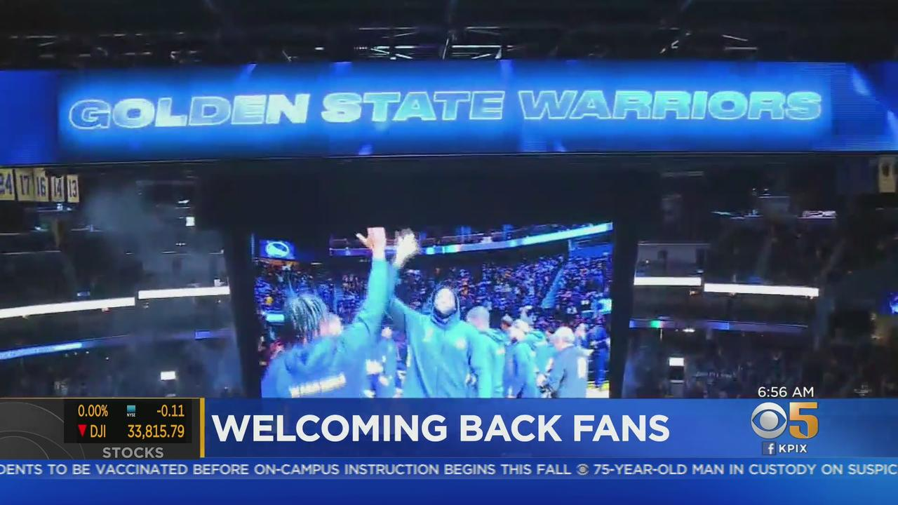 FANS RETURN: Steph Curry and Golden State Warriors set to welcome back fans for the first time