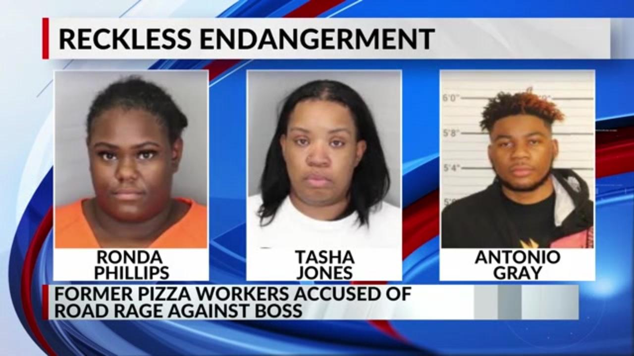 Papa John's manager says former employees followed her, tried to cause crash