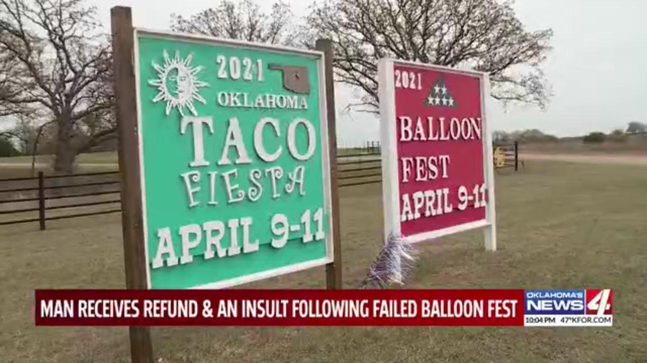 Organizer of no-show Oklahoma balloon festival relents, disperses some refunds — and insults