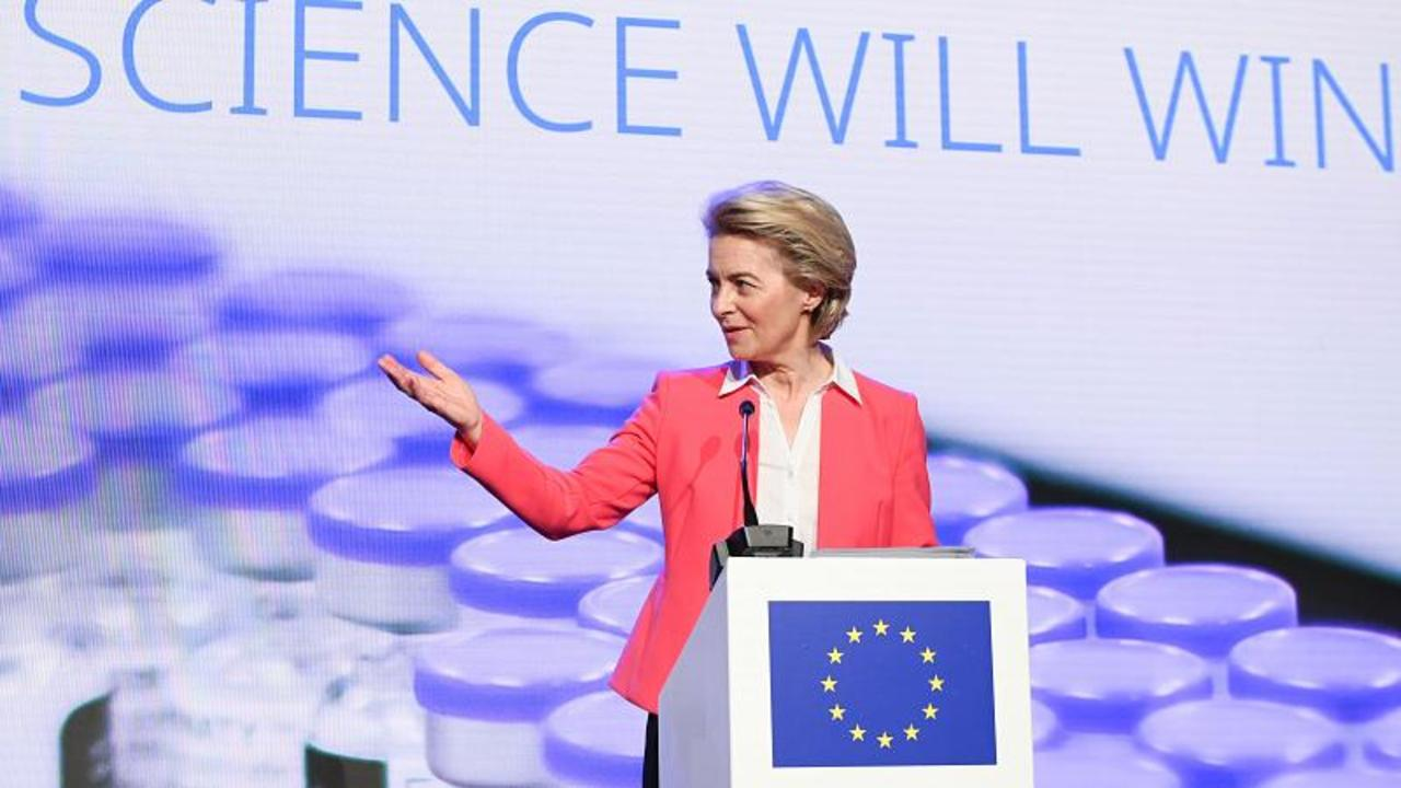 EU to vaccinate 70% of adults by July, two months ahead of schedule, says Von der Leyen
