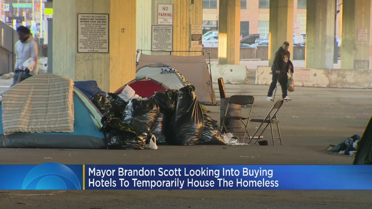 Baltimore Mayor Looking To Purchase Hotels To Provide Housing For Homeless