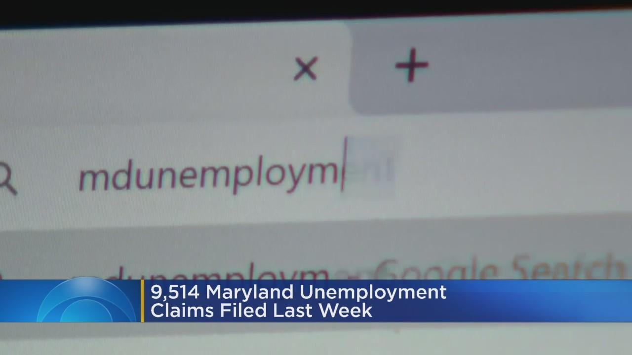 More Than 9.5K Unemployment Claims Filed Last Week In Maryland