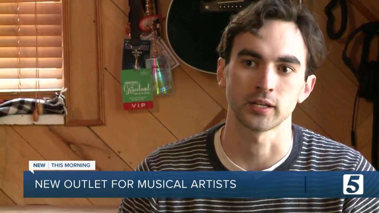 Built in Nashville aims to be new outlet for musical artists