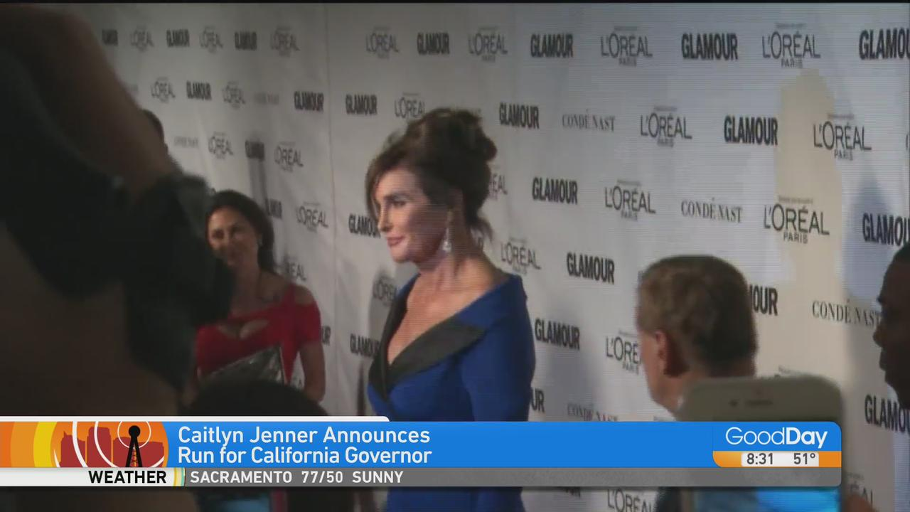 Caitlyn Jenner Says She's Running For CA Governor