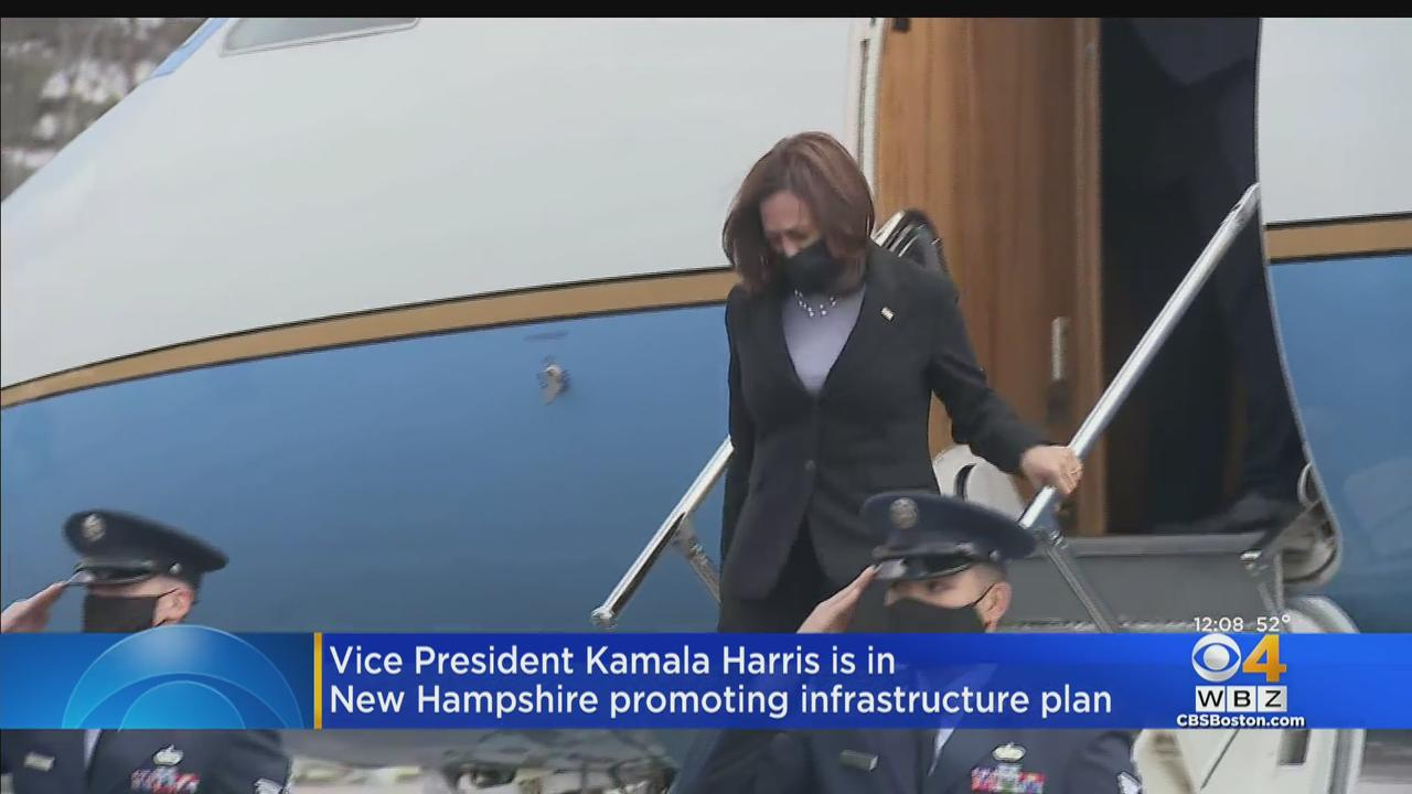 Vice President Kamala Harris Visits Plymouth And Concord, New Hampshire