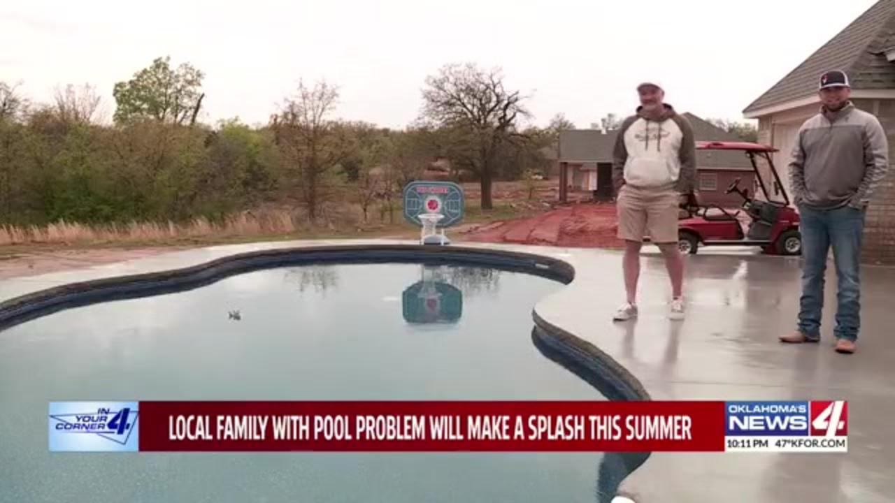 After one pool company stands up Oklahoma family out $38,000, second company steps in to finish the job