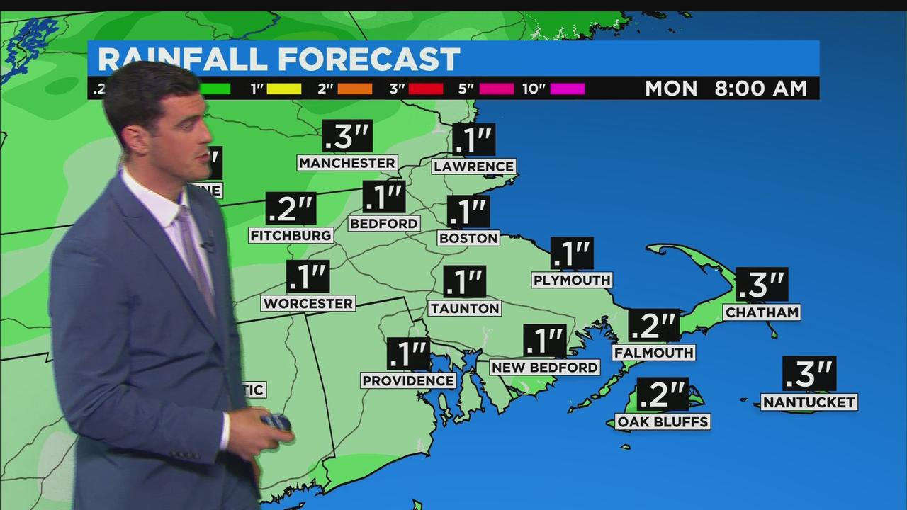 WBZ Midday Forecast For April 23