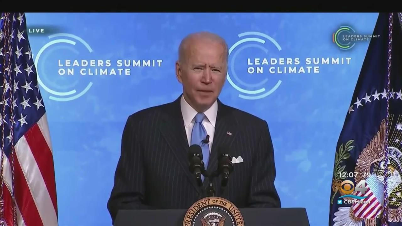 President Biden Wraps Up Two Day Virtual 'Leaders' Climate Summit'