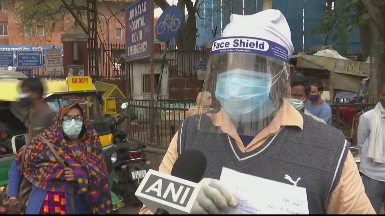 Some Delhi hospitals have no oxygen, says minister