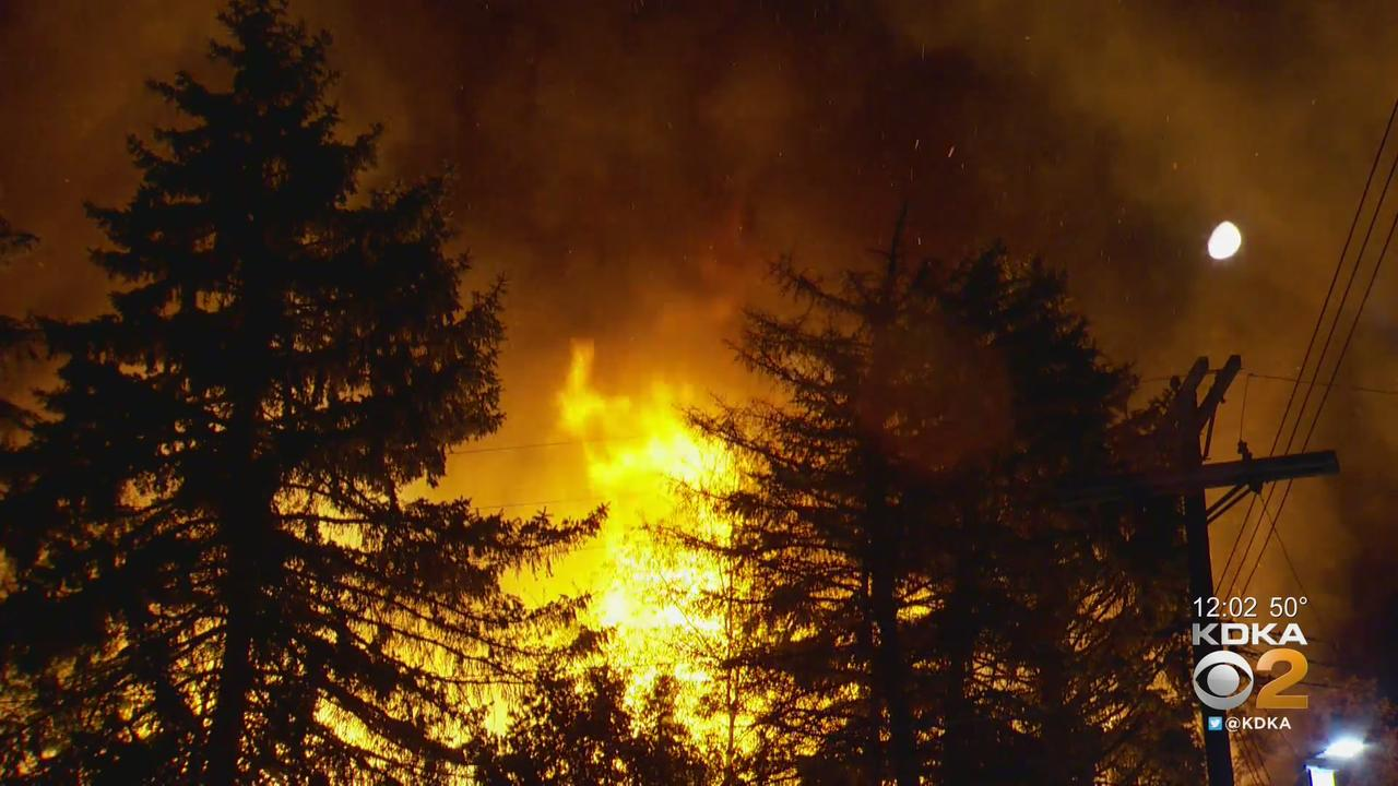 Multiple Fires Ignite Overnight In Pittsburgh Area