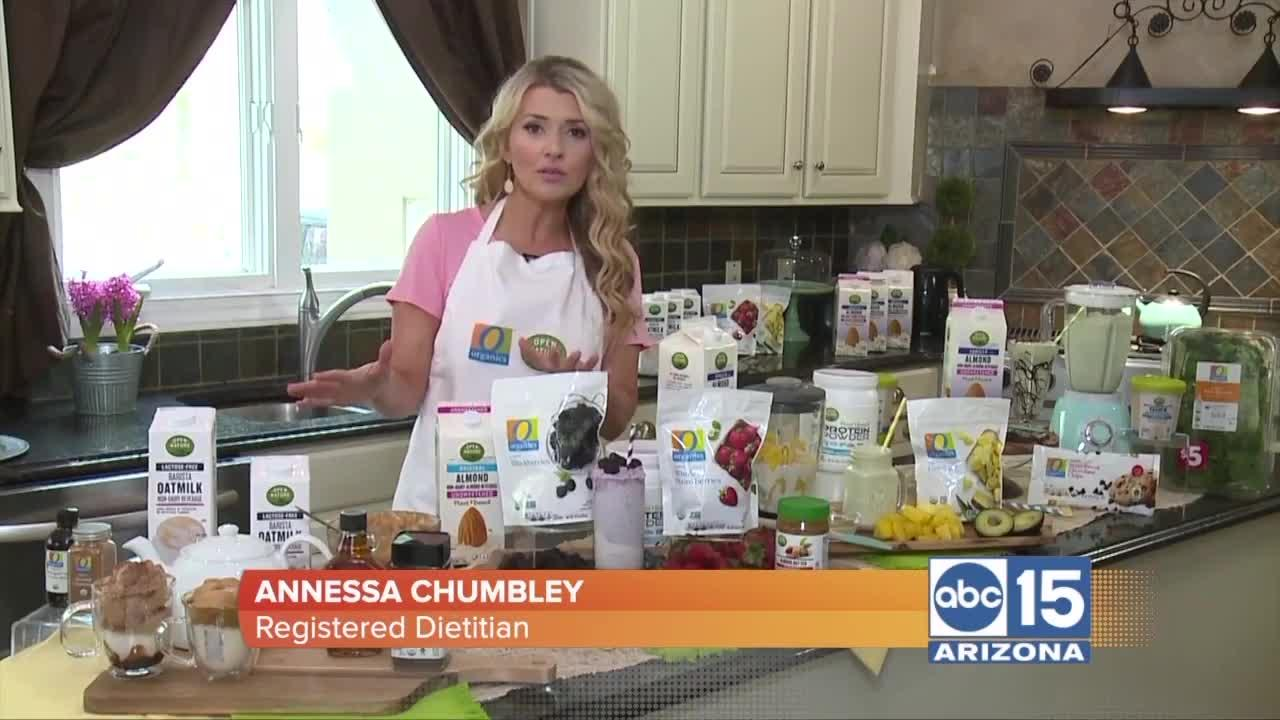 Annessa Chumbley has tasty and easy plant-based beverages