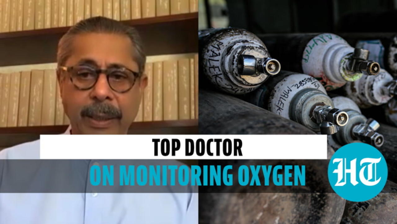 Top doctor explains how Covid patients can monitor oxygen at home