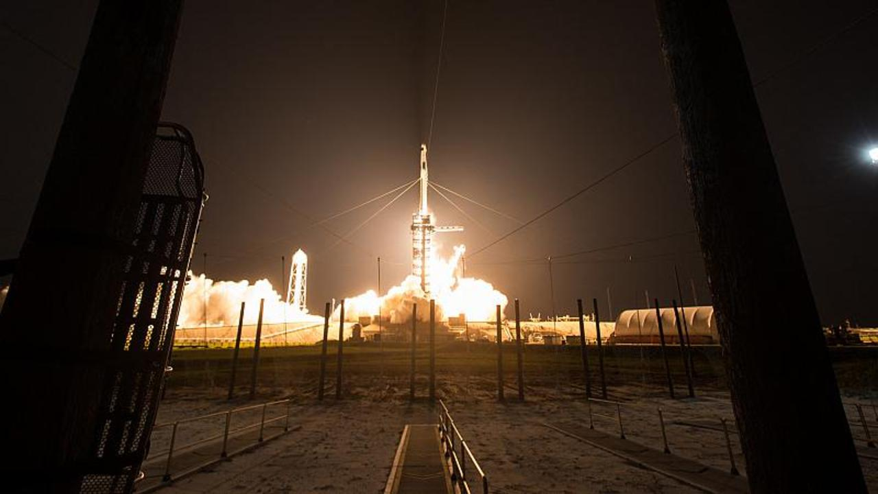 Watch SpaceX launch the first manned mission on a reused rocket
