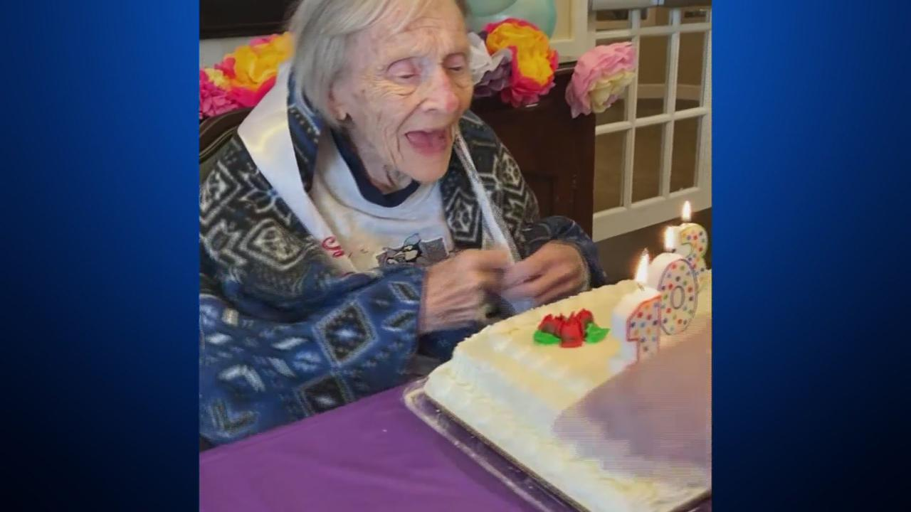 Woman At Aurora Care Center Celebrates 103rd Birthday Party