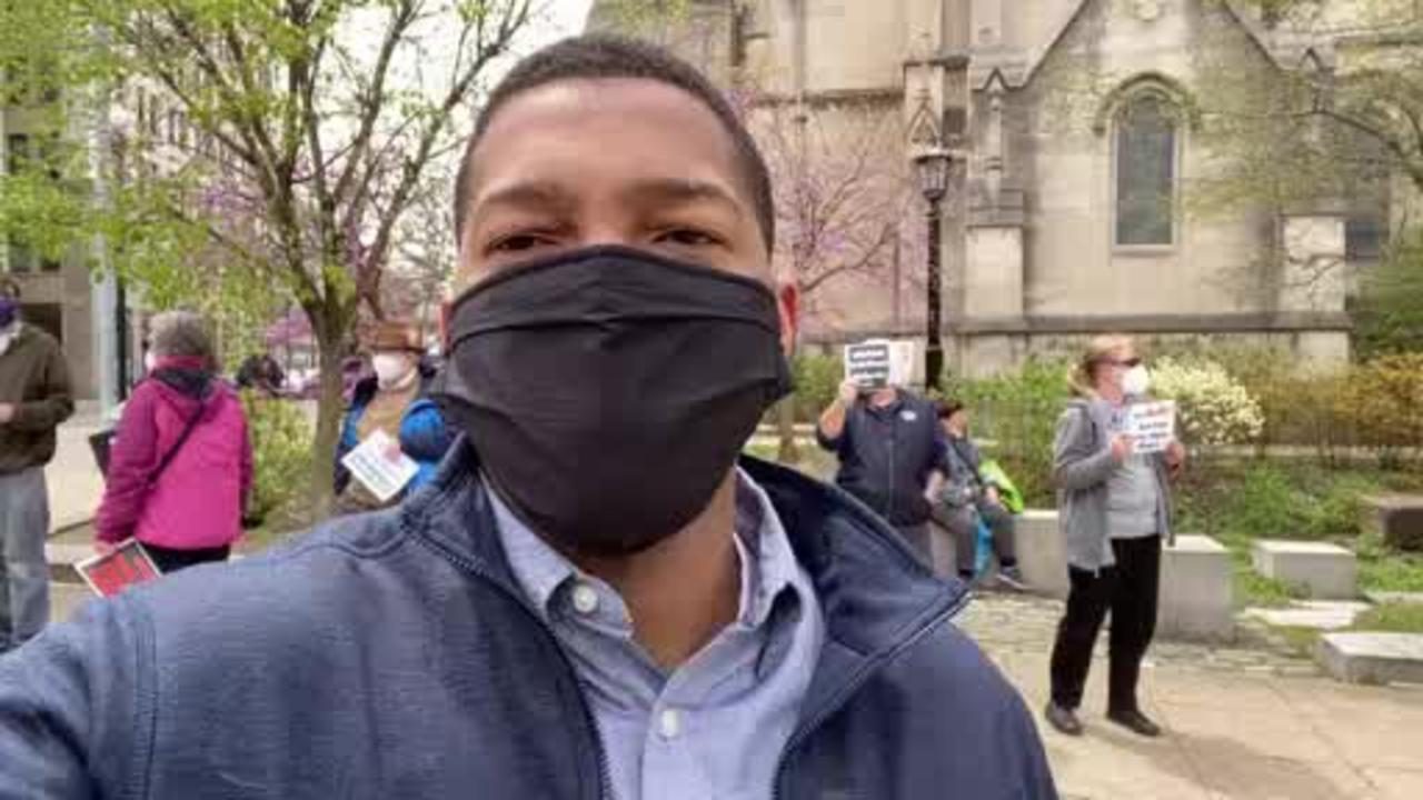 Reporter Update: Rally In East Liberty For Racial Justice