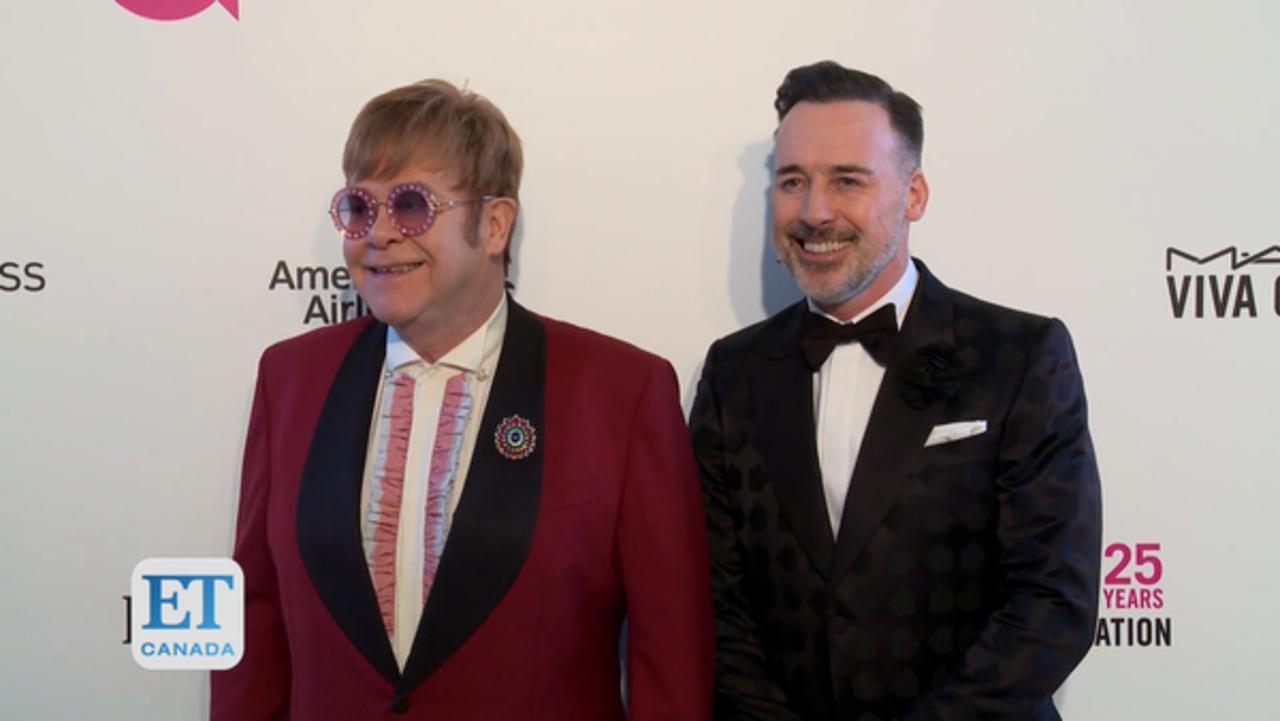 David Furnish Teases Elton Johns's Oscar Viewing Party
