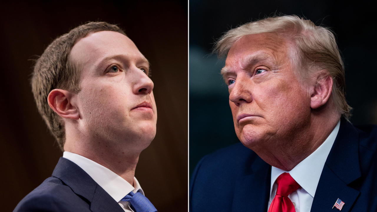 Facebook is grappling with a decision on Trump's account