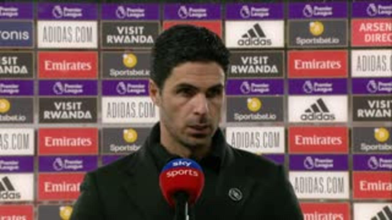 Arteta frustrated with offside decision