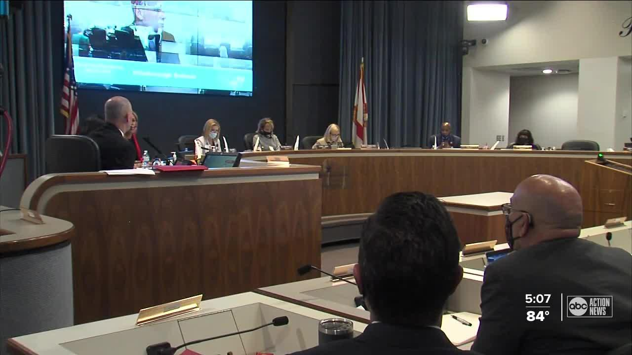 Hillsborough county school leaders meet on financial crisis