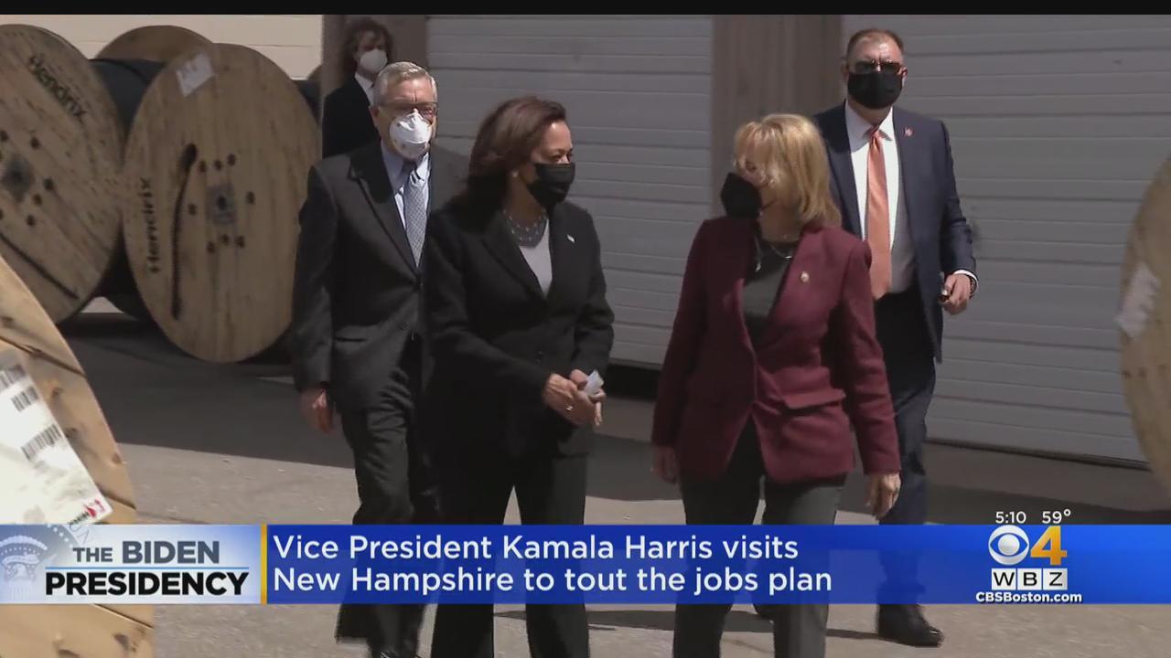 Vice President Harris Visits NH To Tout Jobs Plan