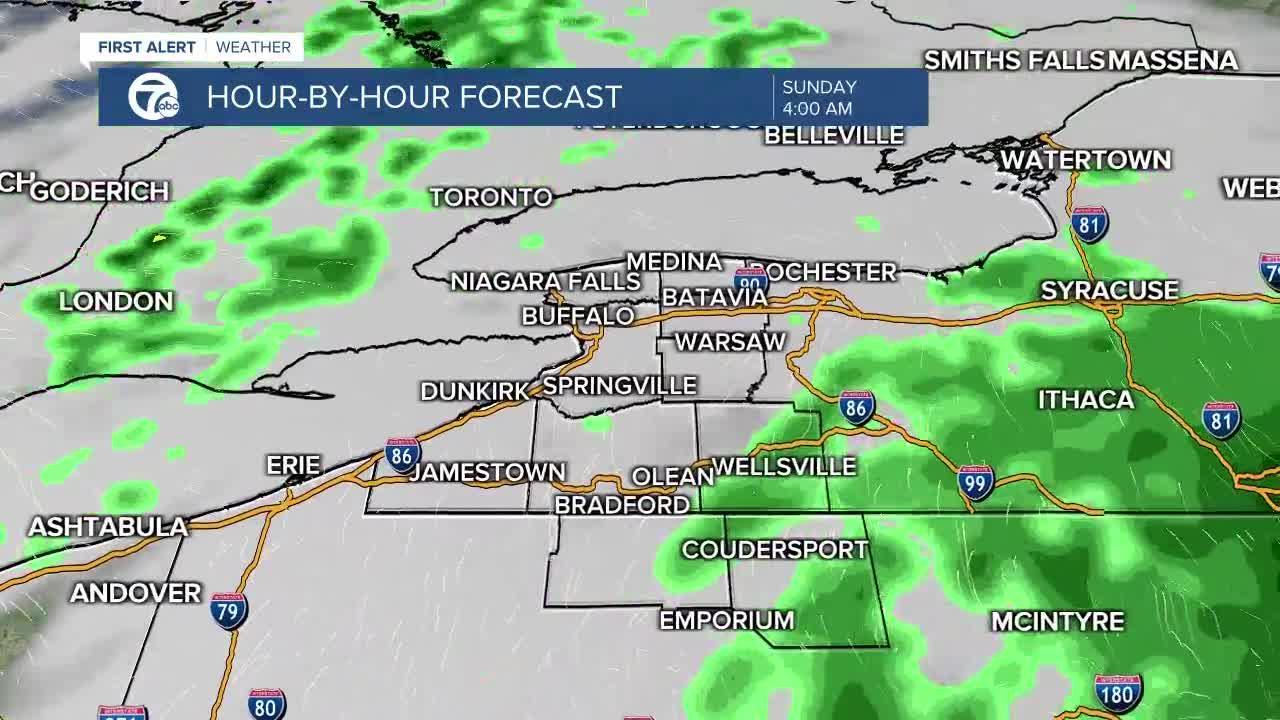 7 First Alert Forecast 5 p.m. Update, Friday, April 23