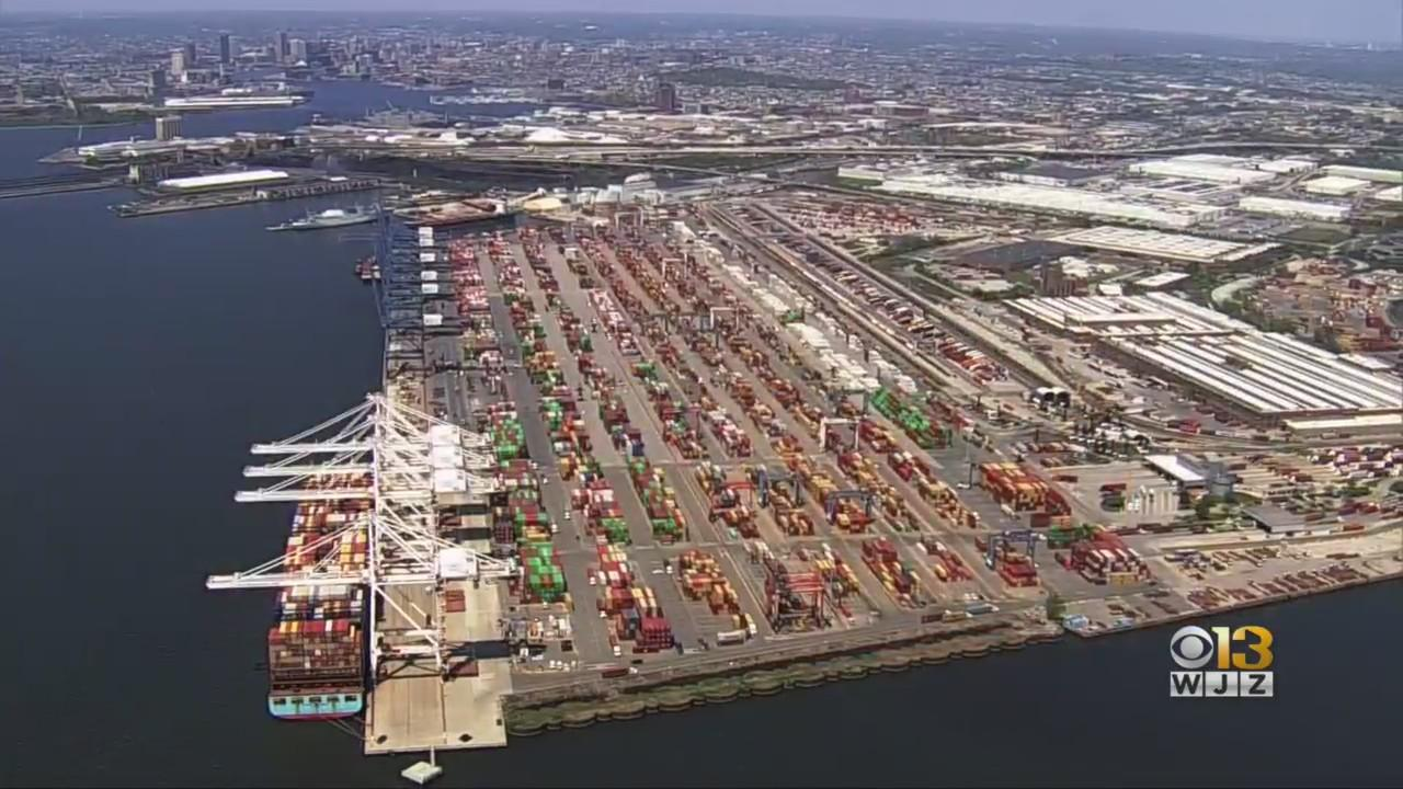 Port Of Baltimore Finishes Dredging For New Container Ship Location