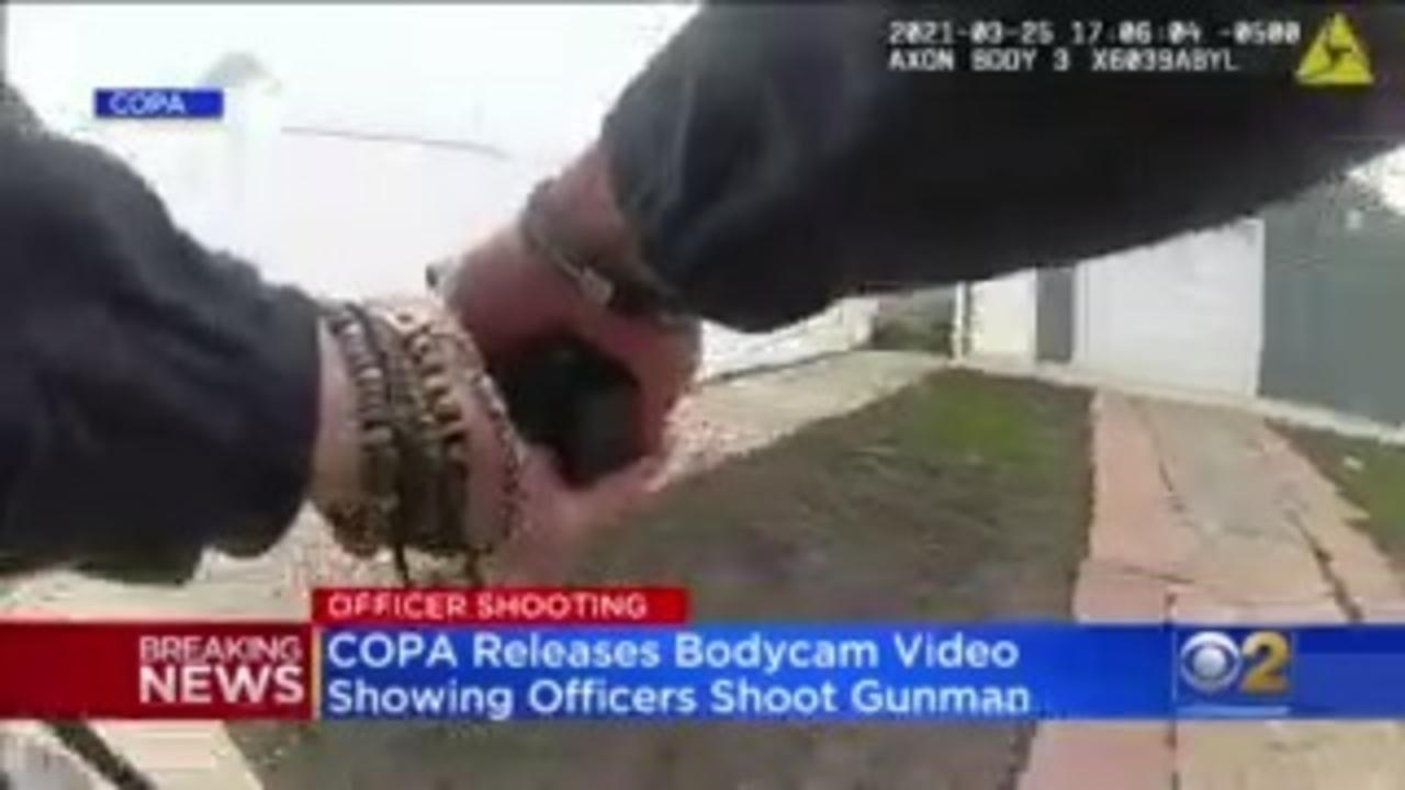 Bodycam Video Of Shootout At Home Depot In Back Of The Yards Neighborhood