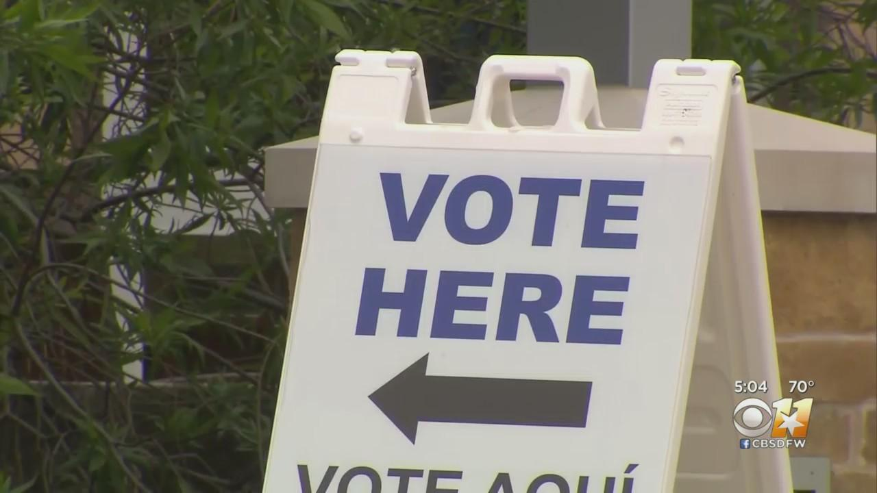 Tarrant County Seeing High Turnout Of Early Voters For May 1 Election