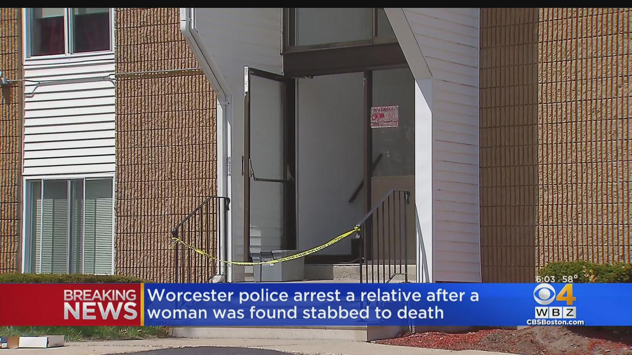 71-Year-Old Woman Stabbed To Death In Worcester; Male Relative Arrested