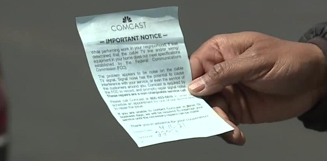 Comcast confusion: Service flier sparks skepticism for Bloomfield Hills residents