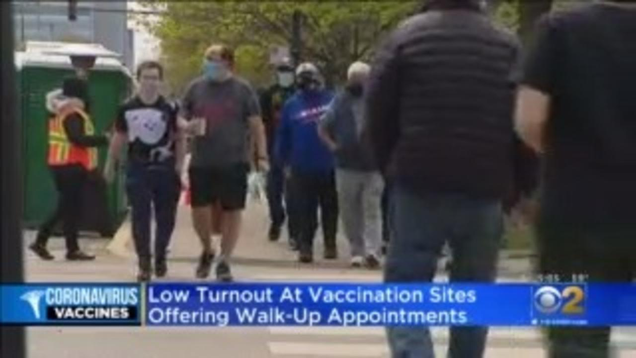No Long Lines At Walk-In Vaccination Sites
